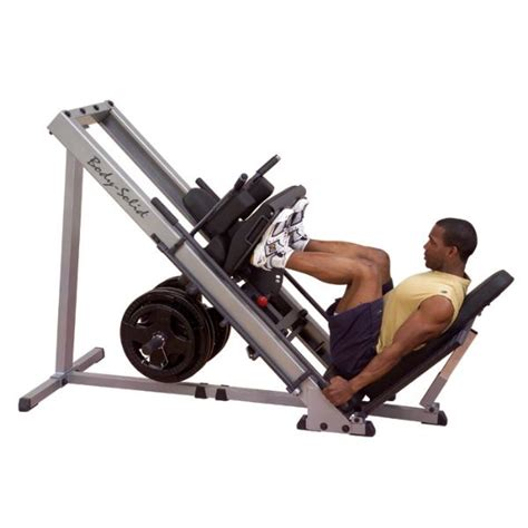 leg press plate load gym machines