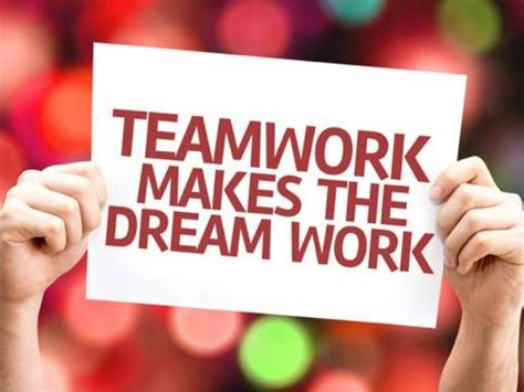 Make You Work teamwork makes the work