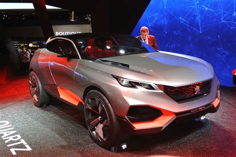 who makes peugeot peugeot quartz concept makes its debut in paris auto express