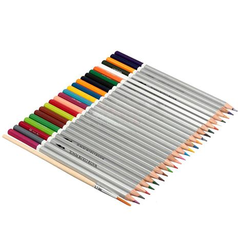 water colored pencils deli water soluble crayons colored pencils wooden pencils