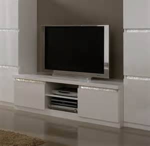 meuble living tv design meuble tv design laqu 233 blanc medusa meubles tv hifi