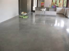 Polished concrete floors are a great choice lighthouse garage doors