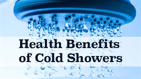 Benefits Of Cold Showers After Workout by Top Benefits From Showering In Cold Water