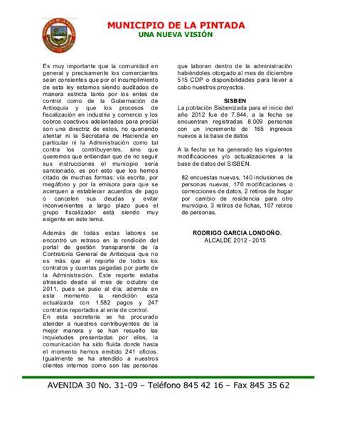 ley n 19149 de rendicin de cuentas 2012 parlamento rendicion de cuentas 2012