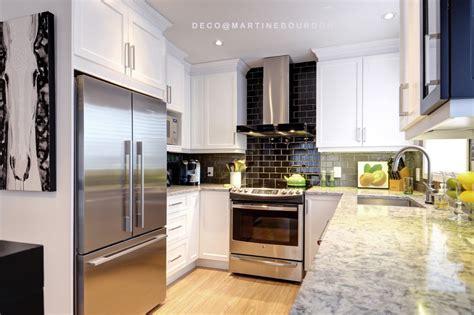 cr馘ence cuisine en verre design separation de cuisine en verre vitrail de sparation entre