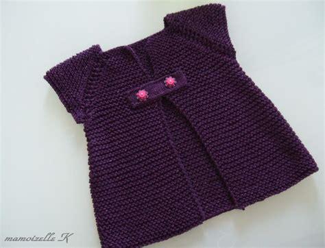 Viola Tunik 2 patron tricot gilet fille 12 ans