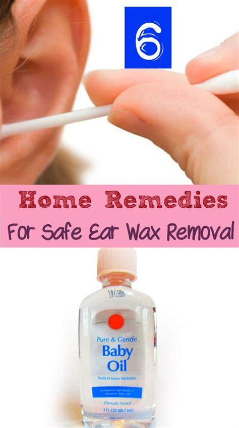 Detoxing Through Ears Wax by Best 25 Ear Wax Removal Ideas On Ear
