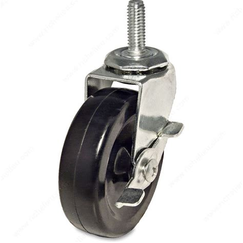 Chair Casters Threaded Stem by Multi Purpose Furniture Caster With Threaded Stem