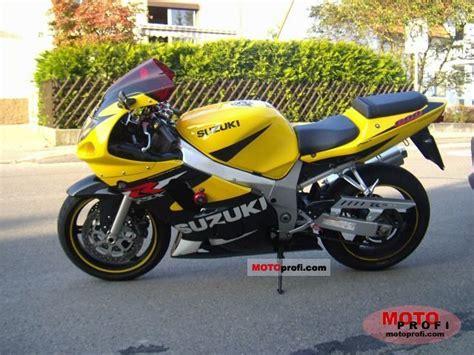 Suzuki Gsxr 600 2001 Suzuki Gsx R 600 2001 Specs And Photos