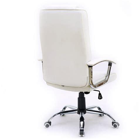 silla de oficina stanford blanca