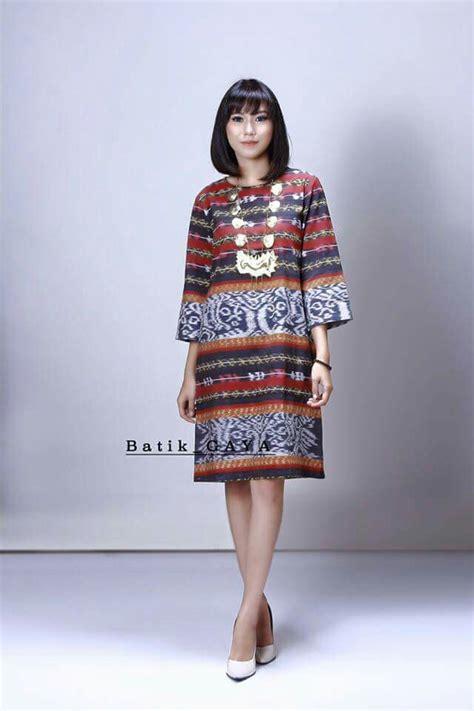 Tenun Ikat Maumere Ntt model rok dari bahan sarung yang mantap dan tenun maumere
