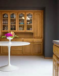 Can I Stain My Kitchen Cabinets Modernize Honey Oak Yes We Can Color Zen