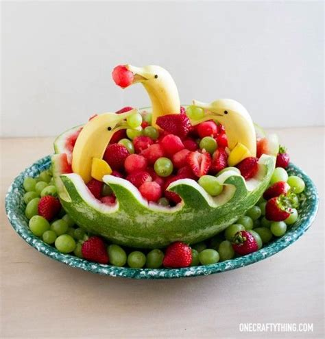 25 best ideas about fruit decorations on pinterest luau