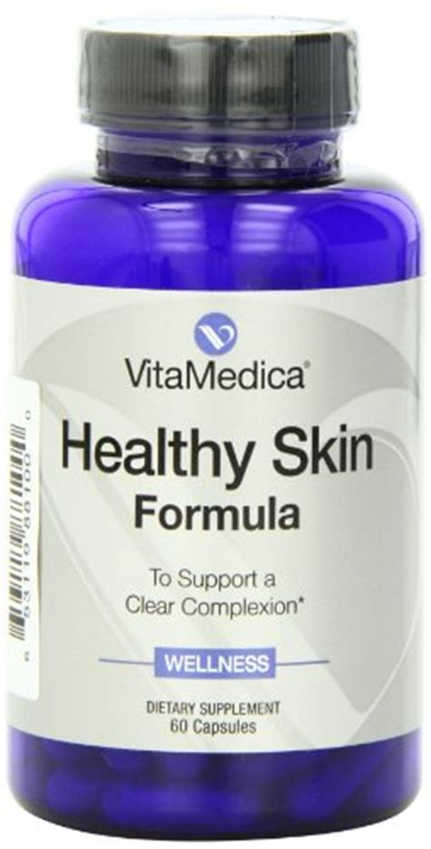 Detox Acne From Msm by Vitamedica Healthy Skin Formula With Vitamin A Zinc Msm