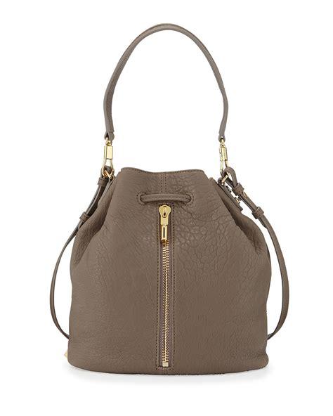 elizabeth and cynnie leather bag in brown lyst
