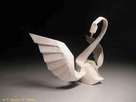Origami Modular Swan - 1000 ideas about origami swan on 3d origami