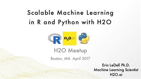 practical machine learning with r and python machine learning in stereo books intro to h2o in r and python boston h2o meetup