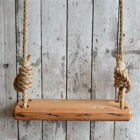 old wooden swing this old fashioned tree swing 200 is stylish in its
