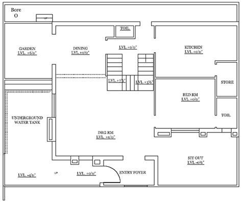 autocad 2d plans for houses architectural drafting 2d plan cad drafting