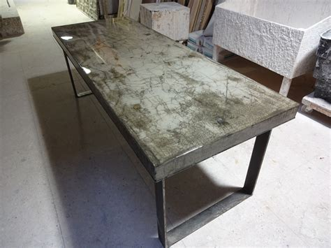 concrete dining table h h bespoke concrete top tables