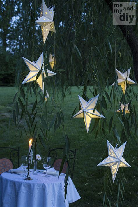 how to make your own paper lanterns