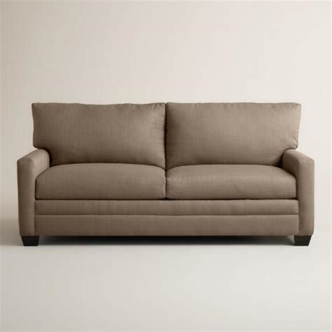 world market sleeper sofa textured woven holman upholstered sleeper sofa world market