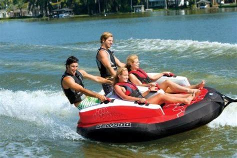 sea doo boat tubes sea doo gx4 towable ski tube 4 person http