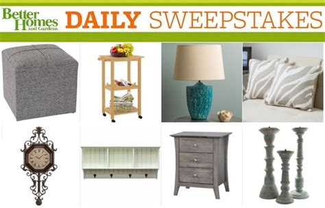 More Daily Sweepstakes - bhg daily sweepstakes sweepstakesbible