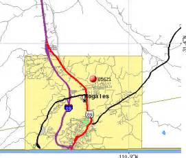 nogales arizona map