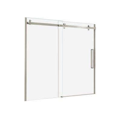 maax shower door rollers keystone by maax halo 48 inch big roller sliding door
