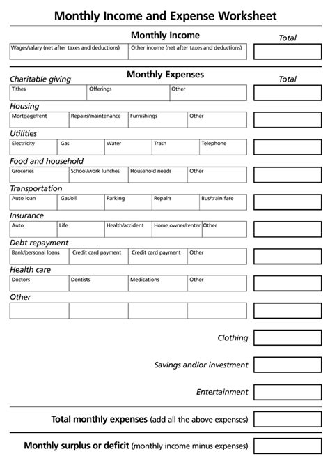 Sle Accounting Worksheet Excel
