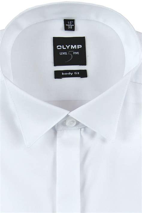 olymp olymp level  body fit hemd klaeppchenkragen weiss
