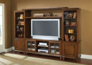 wall units hillsdale grand bay large entertainment wall unit warm brown hd 6179lec at homelement com