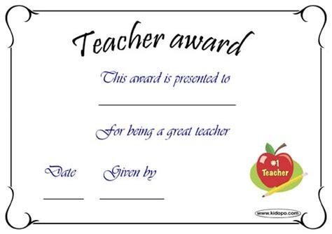 teacher appreciation certificates templates free just b