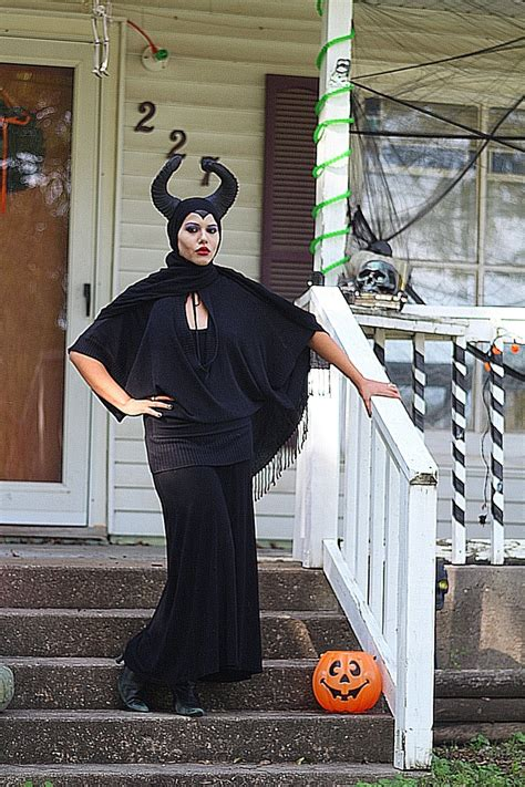 maleficent halloween costume diy couple adult costumes