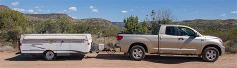 toyota tundra motorhome go cheap go small go now and learn with a small rv