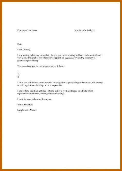 grievance appeal letter template 8 9 appeal letter template resumesheets