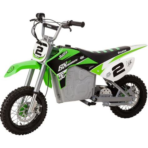 electric motocross bike for razor sx500 dirt rocket mcgrath electric dirt bike
