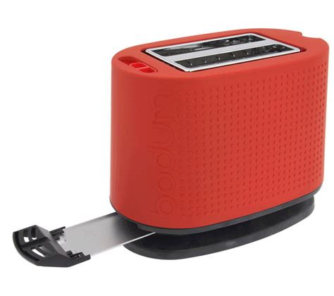 Bodum Toaster Buy Bodum Bistro 10709 294uk Toaster Red Free Delivery