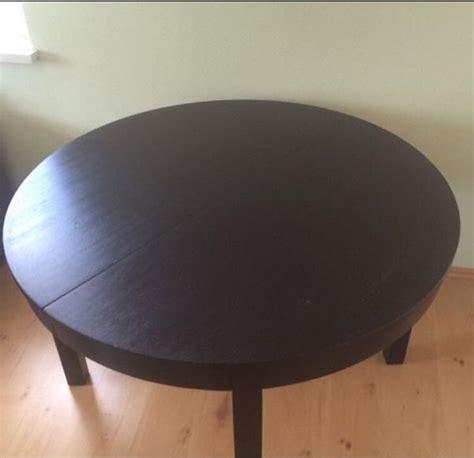 Runde Tische Ikea by Ikea Bjursta Tisch Rund Ausziehbar 4 St 252 Hle In