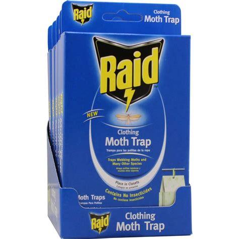 raid closet moth trap 12 pack cmoth raid h the home depot
