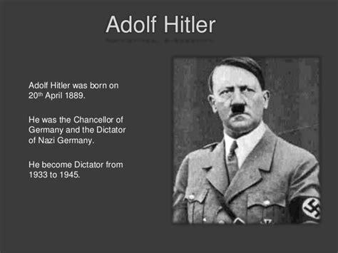 adolf hitler biography holocaust holocaust