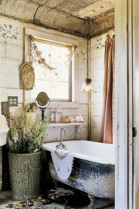 shabby chic bathroom farmhouse bathroom ideas pinterest