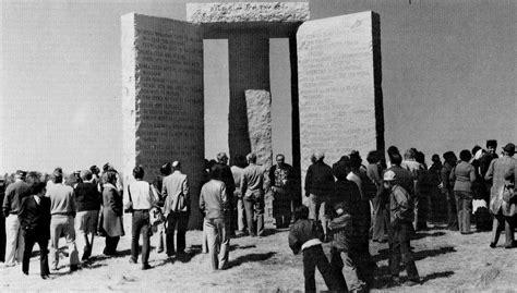 Ministro Ottomano by Guidestones The America S Stonehenge Unsolved