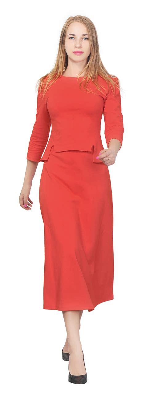 Shirt Set Blazer Skirt Dress s top shirt a line midi skirt suit set casual office