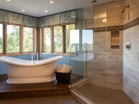 bathroom ideas with tub looking at a view bathroom with a view chantal devane hgtv
