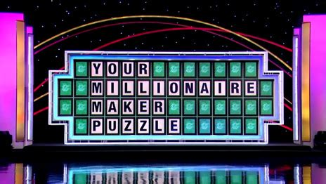 Wheel Of Fortune Million Dollar Sweepstakes - image description