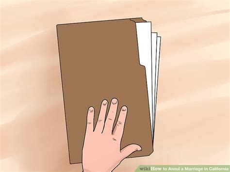 Annulled Marriage Records How To Annul A Marriage In California With Pictures Wikihow