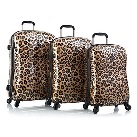 gorgeous suitcases and leopard print suitcases and luggage sets