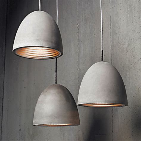 Concrete Pendant Light Concrete Pendant Light Small Gap Lighting Designs